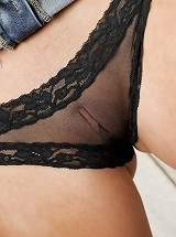 mature women in sheer panties