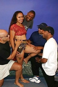 Heartwarming Indian Porn Angel Lashki Pictures Off Her Boobs And Gets Gang Banged By A Team Of Hungry Boys
