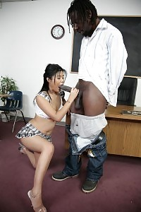 Xxxplosive Asian Asia Bends Down And Kinky And Goes For A Set Of Interracial Molesting Inside A Schoolroom