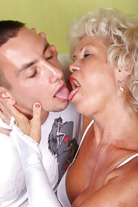 Sizzling Granny Francesca Displays Us That She Still Has It By Fucking Up With A Much Younger Boy