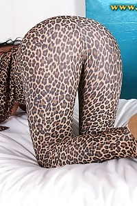 Passionate Demi Uncovers Her Enchanting Body In Her Tigress Uniform