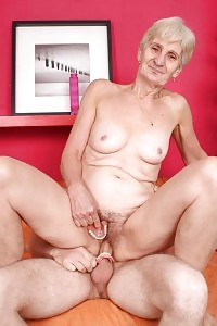 Nasty Grandma Irene Gets Off Her Dentures To Job A Dick With Her Toothless Cock Sucking And Gets Drilled