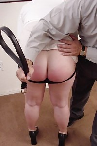 Magnetic Girl Accept Her Fleshy Ass And Gets Terrible Booty Spanking From Her Boss